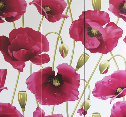 Decor Amapola 3 x 25 x 70