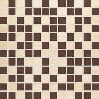 Mosaico Style Beige-Cacao 30x30