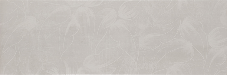 City Flor Gris Decor 25x75