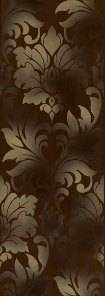 Fortune Flower Inserto Brown 25 x 70