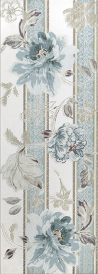 Decor Galiana Floral 1  25 x 70