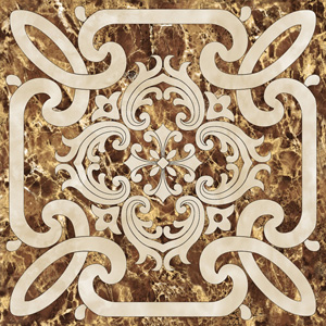 Decor Imperiale-1 Marron 60 x 60