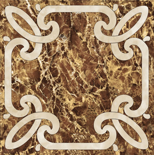 Decor Imperiale-2 Marron 60 x 60