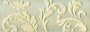 LUXURY  BEIGE ORNATO LIST. 11x30.5