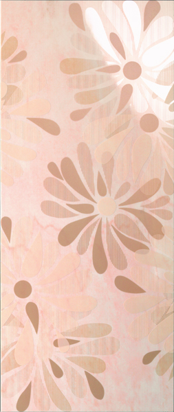 LUXURY FLOWERS ROSA DECOR 30.5x72.5