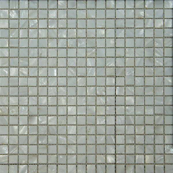 Mosaico Madreperla Media (1,5x1,5)  30 x 30