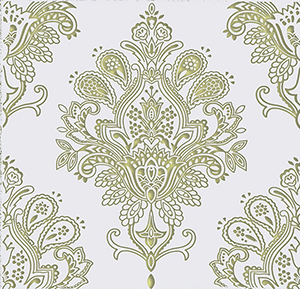Paisley Blanco Decor 20 x 20