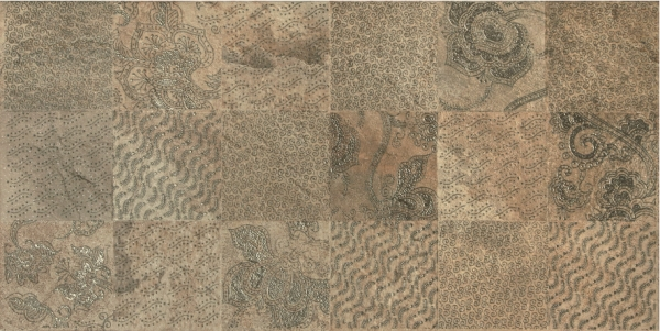 Slate Ramage Decor Nat-Rett Beige-Ruggine 39,6x79,4