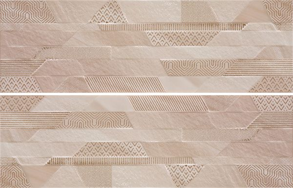 Veneto Taupe Gold Decor 2x25,2x80